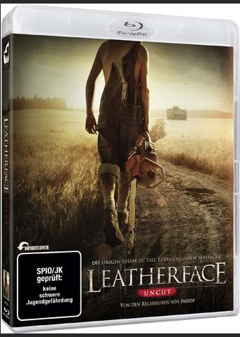 LEATHERFACE (Blu-Ray) - Uncut