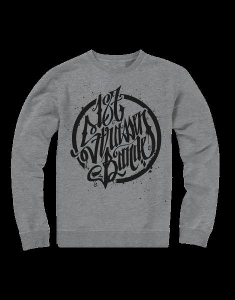 Sweatshirt - 187 Strassenbande Grey/Black