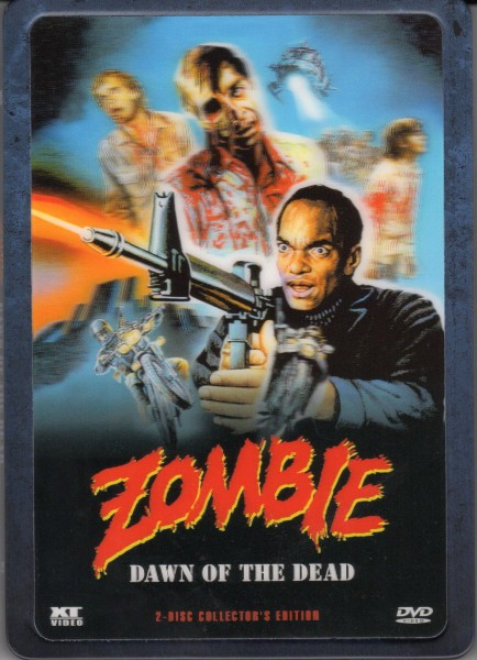Zombie - Dawn of the Dead Uncut 3D-Holocover Steelbook DVD