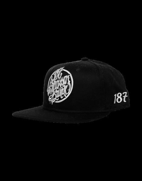 187 Strassenbande Snapback Cap Black
