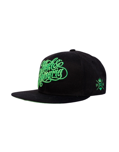 High & Hungrig Snapbackcap Black/Green