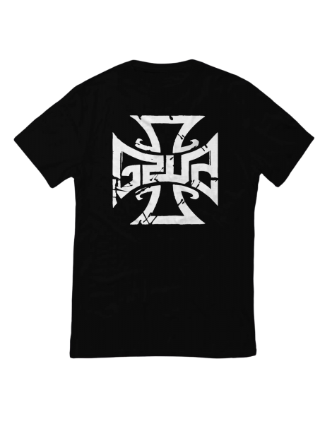 T-Shirt - GZUZ Black/White