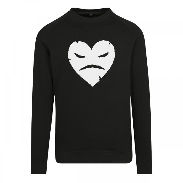Evil Heart - Raglan Sweat Crewneck BK