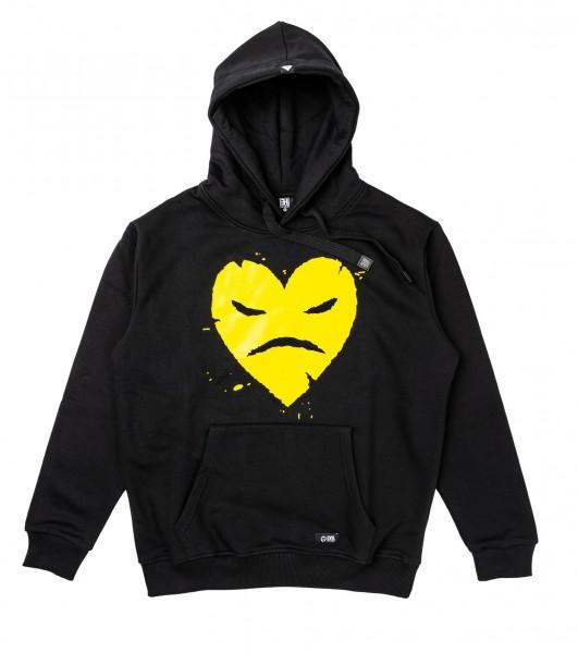 Hoody - Splatter Yellow