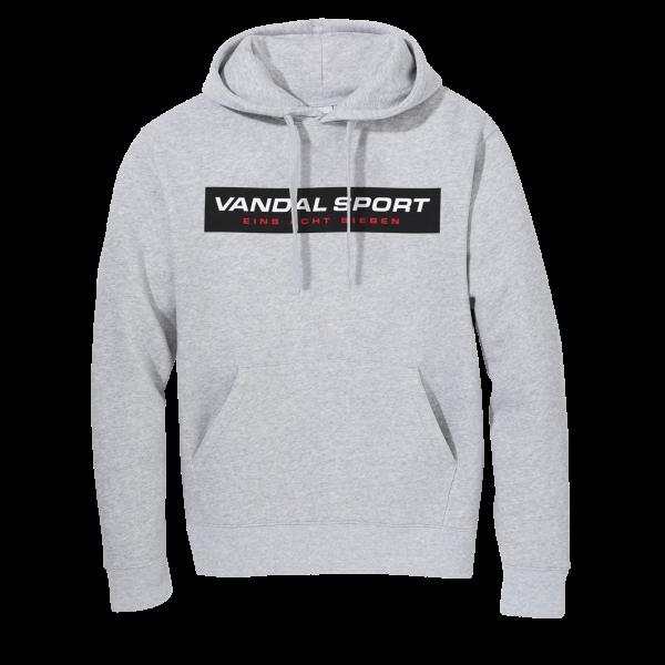 Vandal Sport Logo Hoody Grey