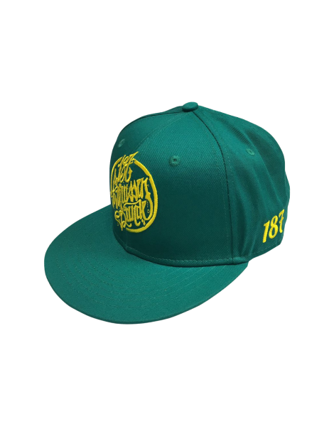 187 Strassenbande Snapback Cap Summer Edition Green/Yellow