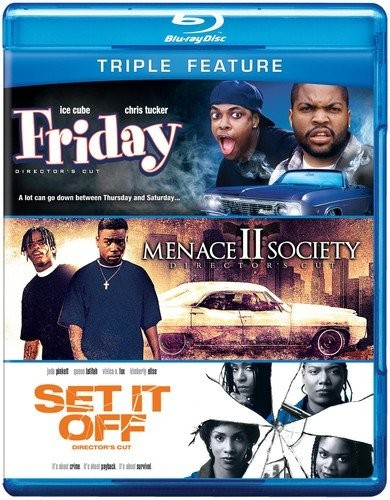 Friday & Menace II Society & Set It Off (Triple-Feature)