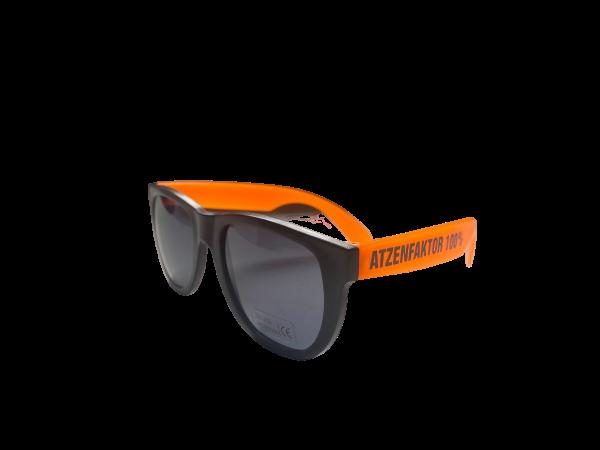 Brille - Atzenfaktor 100% - Orange