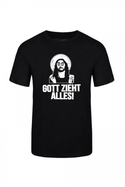 Gott zieht alles Boys Shirt