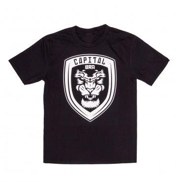 Capital Bra - T-Shirt Wappen Black