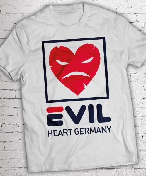 T-Shirt - Evil White