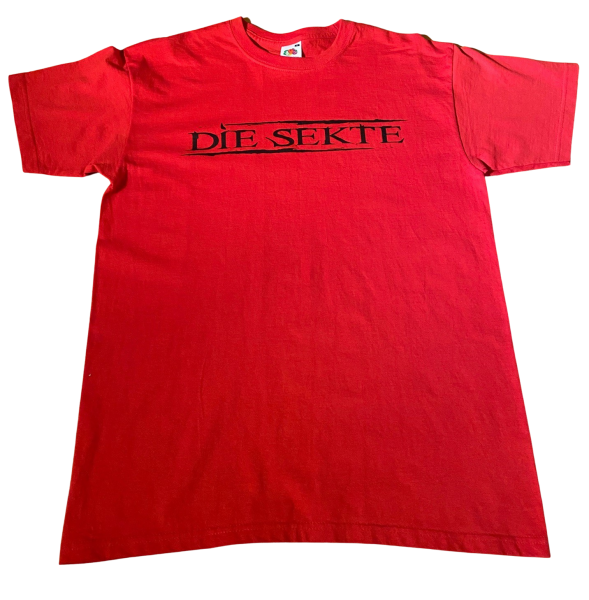T-Shirt - Die Sekte Red/Black