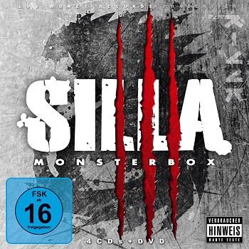 SILLA- MONSTERBOX (4CD+DVD)