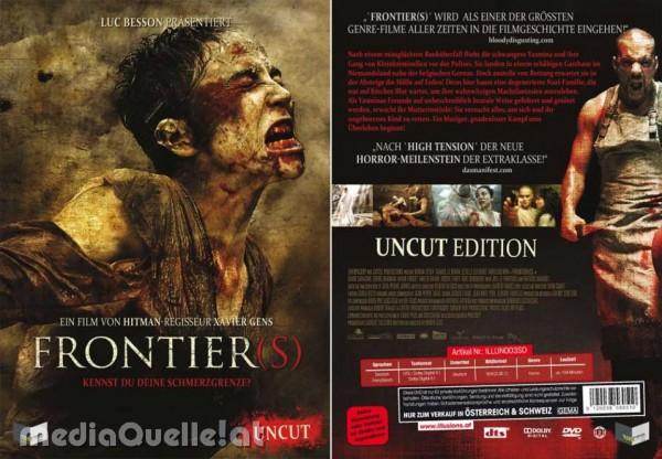 Frontier(s) - Uncut (DVD