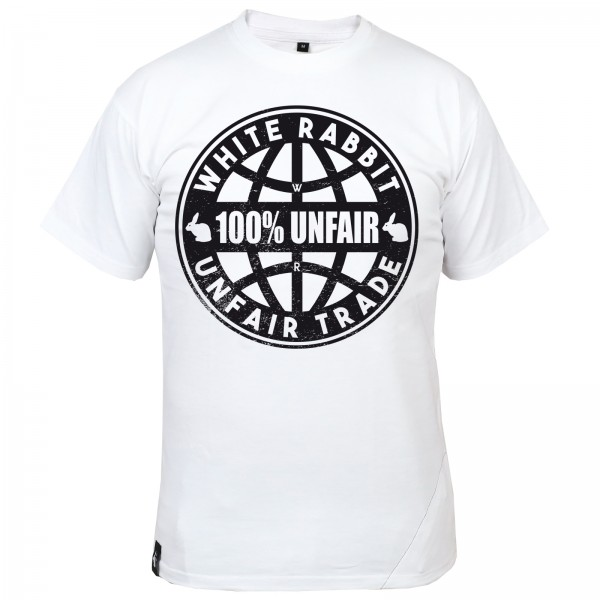 White Rabbit 100% Unfair Trade Shirt