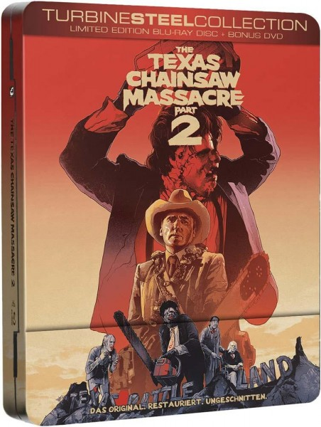 TEXAS CHAINSAW MASSACRE 2 (Blu-Ray) (2Discs) - FuturePak - Uncut