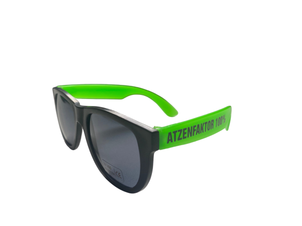 Brille - Atzenfaktor 100% - Green