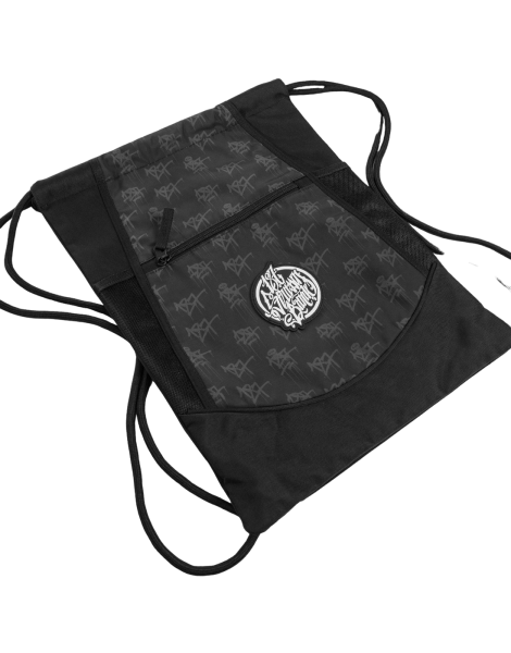 187 Strassenbande Drawstring Bag Black/Grey