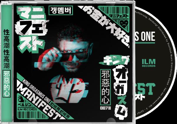 King Orgasmus One - Manifest CD
