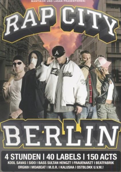Rap City Berlin Vol. 1 DVD