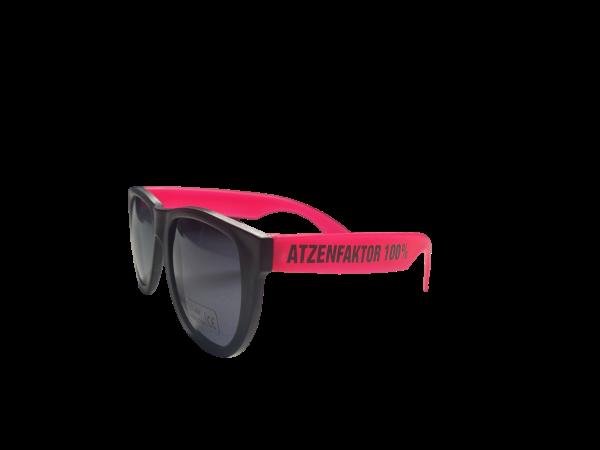 Brille - Atzenfaktor 100% - Pink