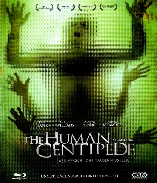 Human Centipede - Schuber inkl. Wendecover (Blu-Ray)