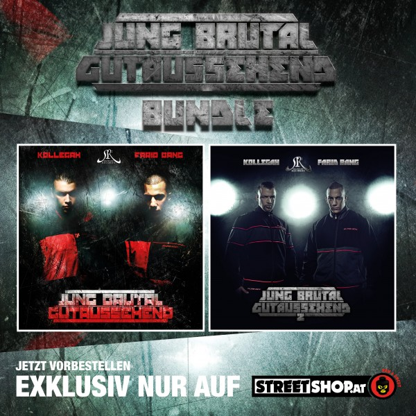 Kollegah & Farid Bang - JBG 1 & 2 (CD Bundle)