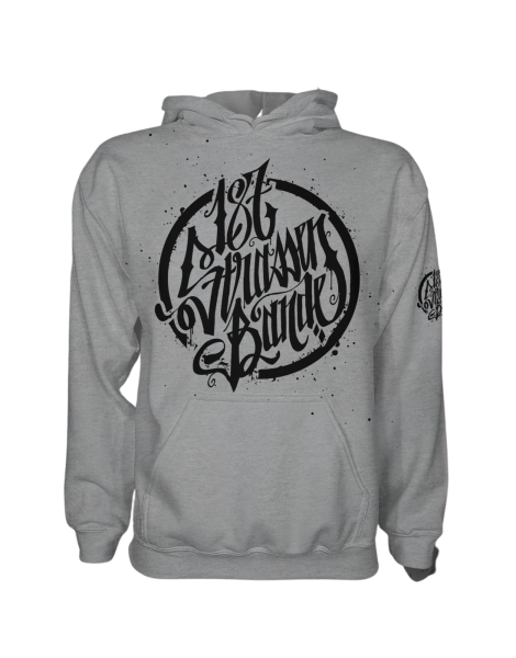 Hoody - 187 Strassenbande Grey/Black (Men)