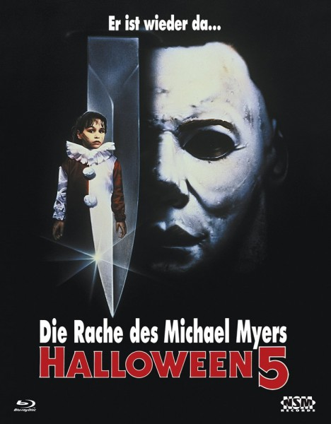 HALLOWEEN 5 (Blu-Ray) - Cover A - Blu-Ray Hartbox - Limited 150