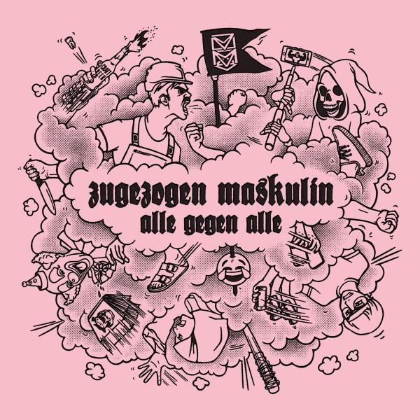Zugezogen Maskulin - Alle Gegen Alle (Vinyl LP)
