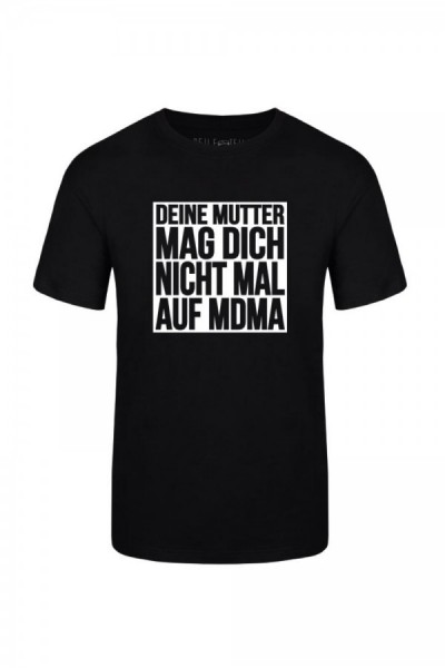 Deine Mutter Boys Shirt Rundhals