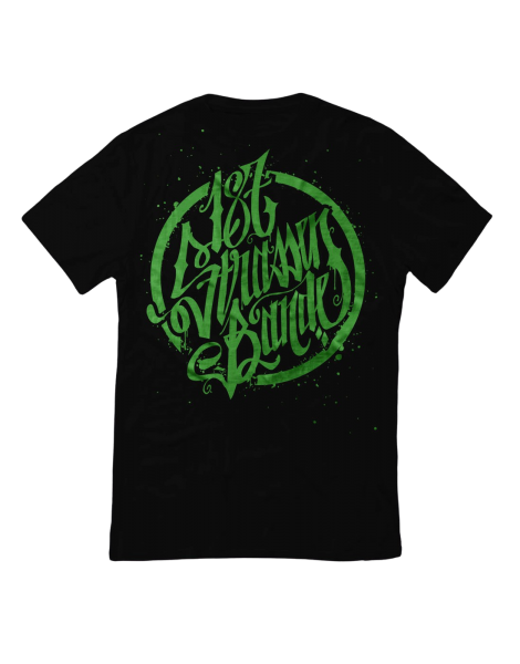 T-Shirt - 187 Strassenbande Black/Green