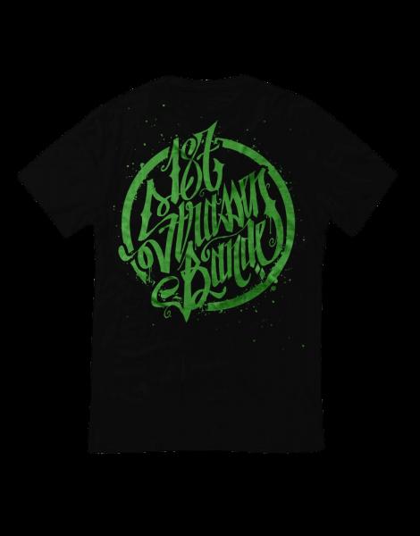 T-Shirt - 187 Strassenbande Black/Green