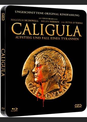 CALIGULA (Blu-Ray) (2Discs) - Steelbook - Uncut