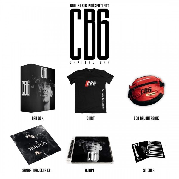 Capital Bra - CB6 (Ltd. Deluxe Box )