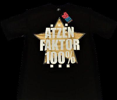 Atzen Wear - Atzenfaktor 100% T-Shirt inkl. 2x Atzenfaktorbrille
