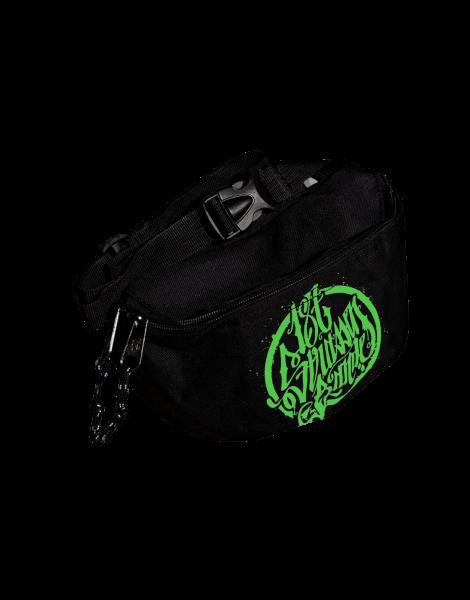 187 Strassenbande Bauchtasche Black/Green