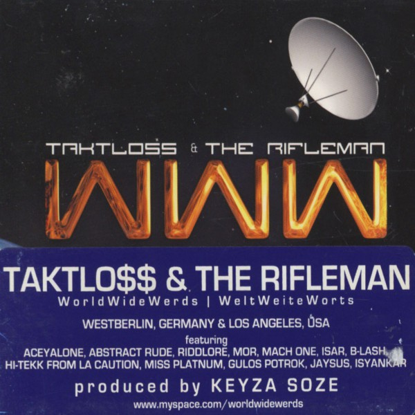 Taktloss & The Rifleman WWW